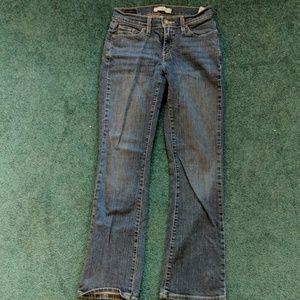 Curvy bootcut jeans Levi's size 4